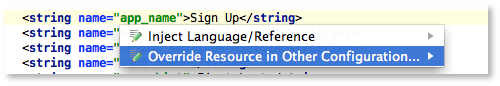 Android Studio Beta intention