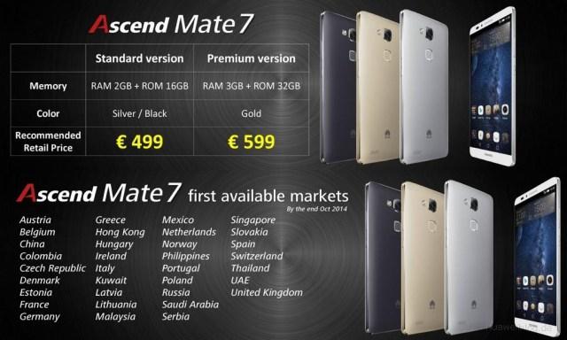 Mate7_Release_Preis
