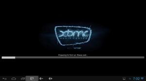 XBMC First Run