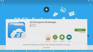 Sideload Android apps with ES File Explorer