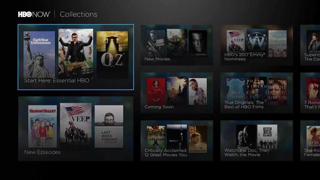 HBO Now Collections