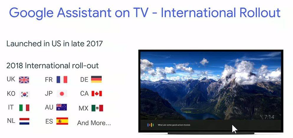 Google Assistant coming to Android TV worldwide