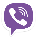 Viber Logo (full) - Android Picks