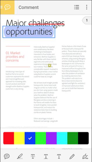 Adobe Acrobat Reader Screenshots New - Android Picks (2)