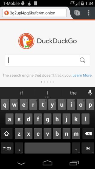 Orfox Screenshot - Android Picks (3)