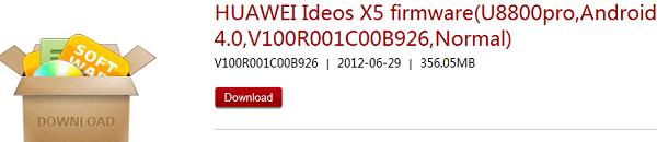 IDEOS X PRO ICS update