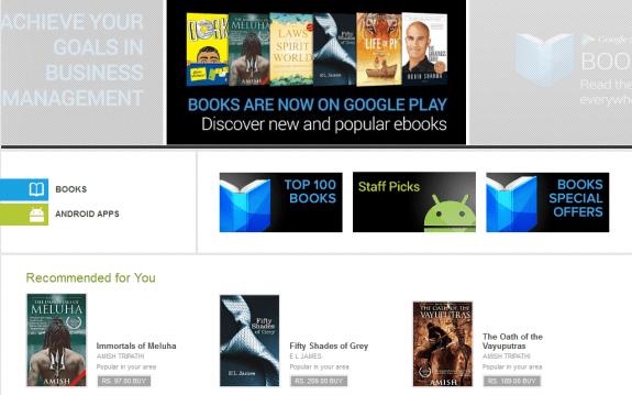 google Play India Books Web