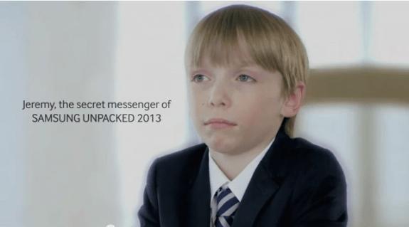 Jeremy Secret Messenger Samsung S4
