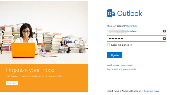 Outlook.com Web