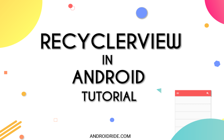 Android Recyclerview Simple Tutorial