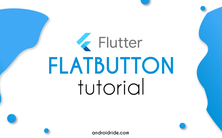 flutter text button flatbutton