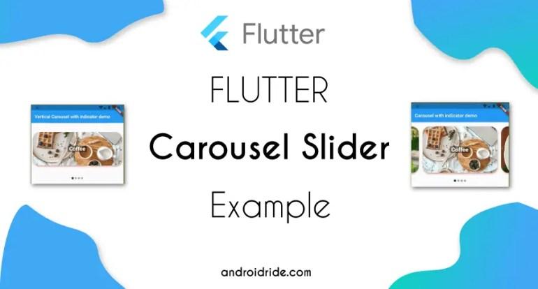 flutter carousel slider example