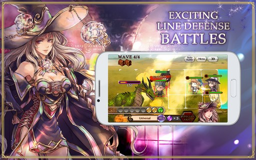 Chain Chronicle Para Android - Captura