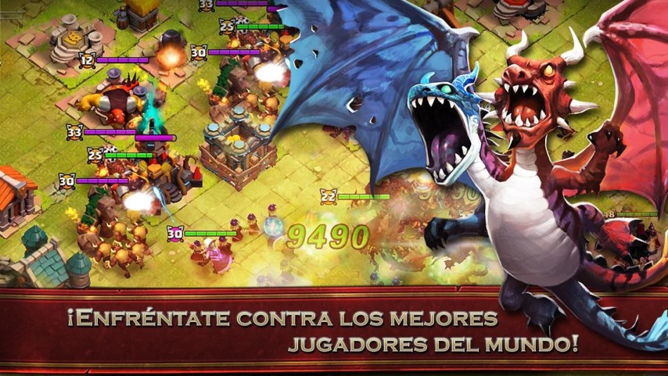 Screenshot De Clash of Lord II  Para Android