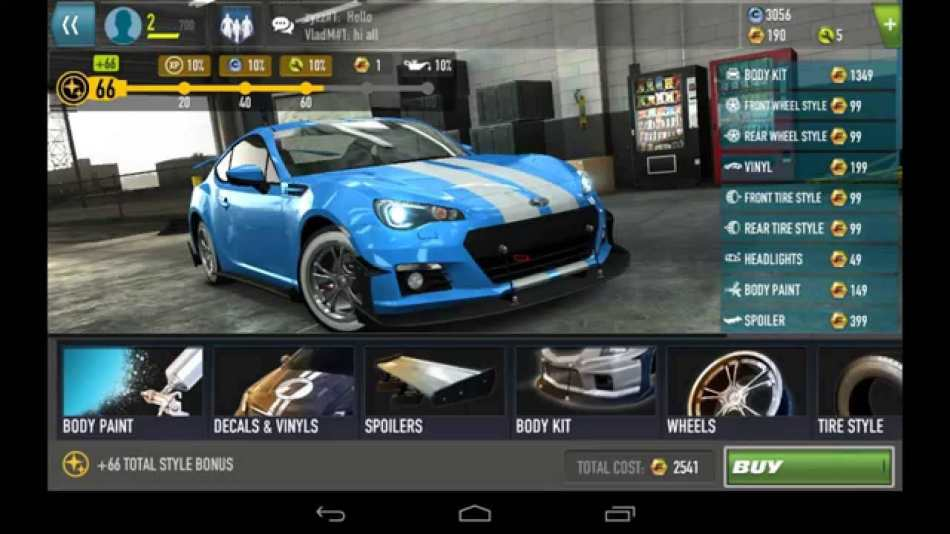 Screenshot De Fast & Furious: Legado Para Android
