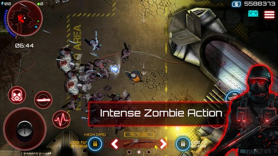SAS: Zombie Assault 4 Para Android - Captura