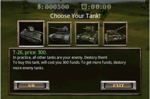 Screenshot De Tank Battle 3D: World War II Para Android