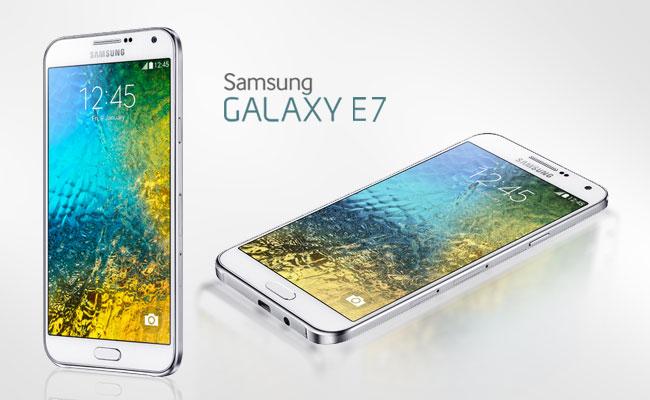 Review Galaxy E7