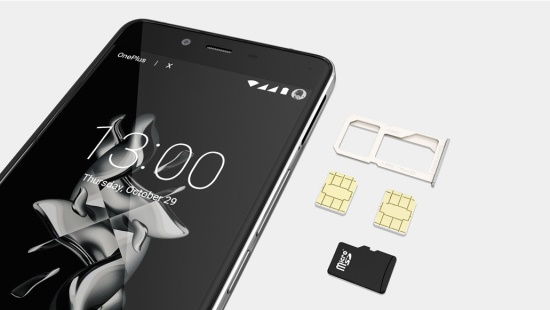 OnePlus X Dual SIM and Expandable Storag