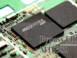 Cara Bypass Akun Google FRP Perangkat Mediatek MT6580