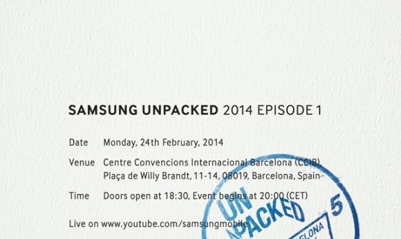 Zaproszenie na Unpacked 2014