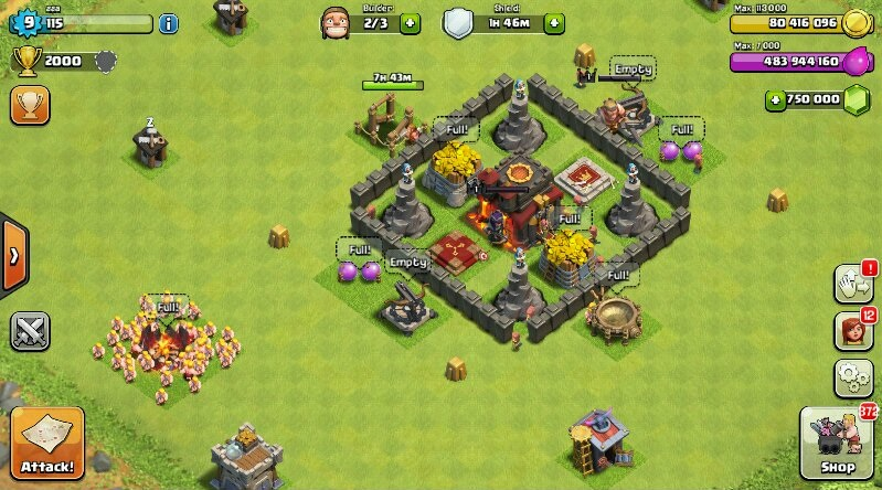 clash of clans unlimited coins mod apk