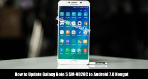 Update Galaxy Note 5 to Android 7.0 Nougat N920CXXU3CQC7