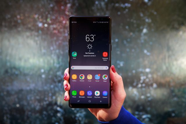 Factory Reset Galaxy Note 8