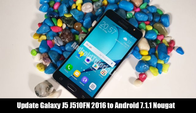 Update Galaxy J5 J510FN 2016 to Android 7.1.1 Nougat
