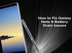 Fix Battery Discharge Issue On Galaxy Note 8