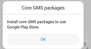 Install Core GMS Packages