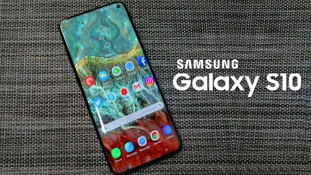 Enter Recovery mode on Galaxy S10