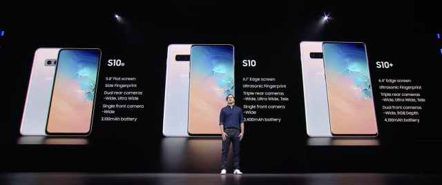 Galaxy S10 Model Numbers