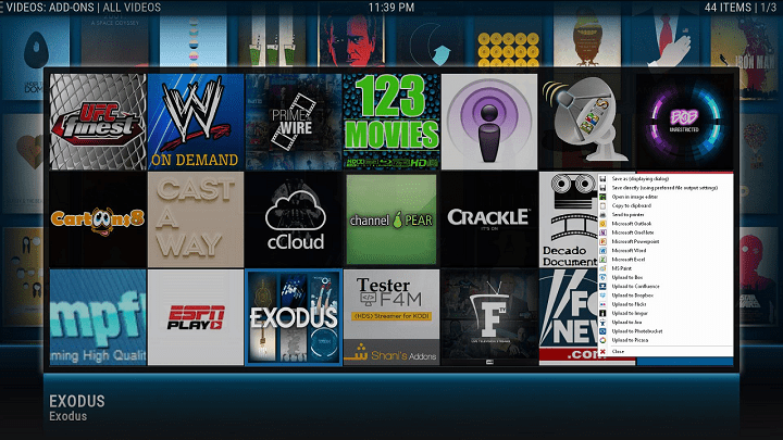 how to set up trakt.tv video library for tvgeek kodi screen 3
