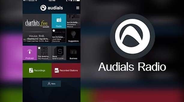 en iyi radyo uygulaması Radio Player (Audials)