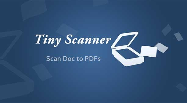 en hızlı tarayıcı uygulaması Tiny Scanner 2020