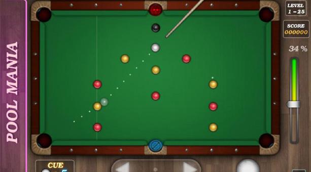 en iyi bilardo oyunu Pool Mania