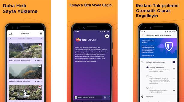 siber saldırılardan korunma tarıyıcısı Mozilla Firefox