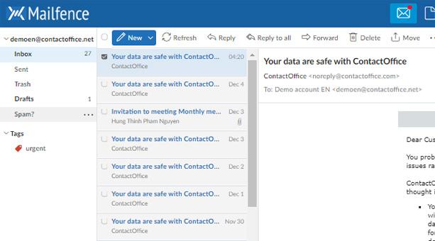 güvenli e-posta sağlayıcısı Mailfence
