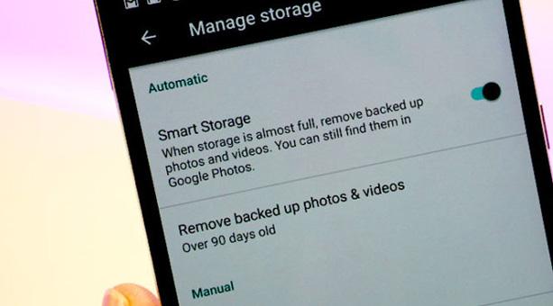 android akıllı depolama