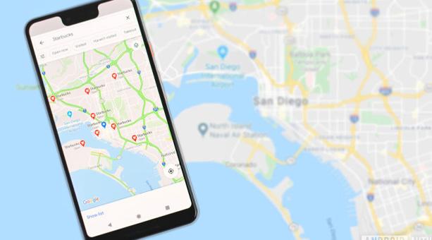 Google Haritalar'da Çevrimdışı Alanları Silin