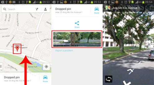How to Enable Street View in Google Maps Android   AW Center Sreet View in Google Maps