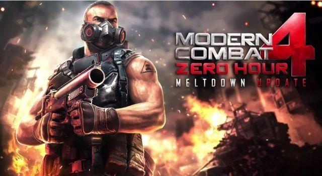 Modern Combat cuatro Meltdown