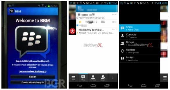 BlackBerry Messenger Android-5