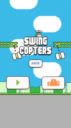 Swing Copters Clone