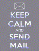 keep calm and send mail