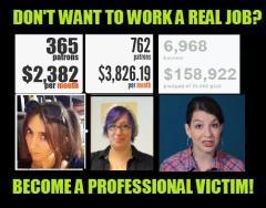 Professional victim