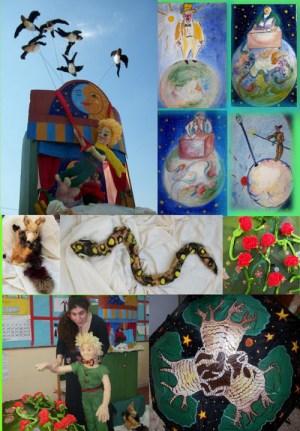 Φωτογραφίες από το κουκλοθέατρο του μικρού πρίγκιπα της Κατερίνας Λιοντάκη