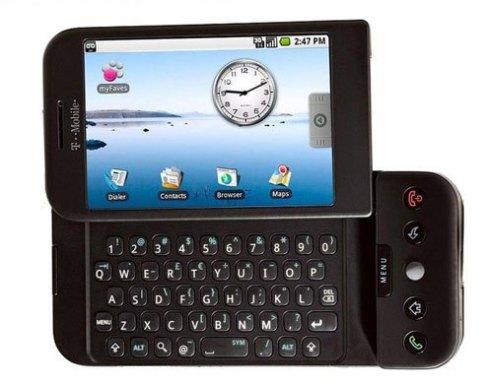جهاز G1 من HTC أول جهاز  أندرويد يضرب الأسواق