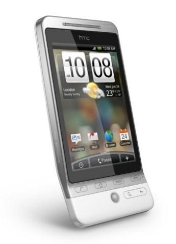 جهاز HTC Hero الذي قدمت فيه الشركة واجهات مميزة جداً